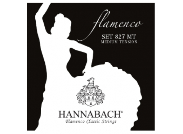 Hannabach 827 MT Flamenco Black