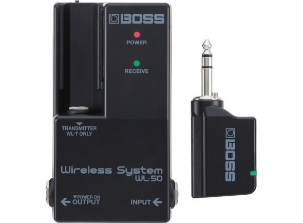 Sistemas sem fio para guitarra e baixo BOSS WL-50 Sistema Sem fios para Pedalboards