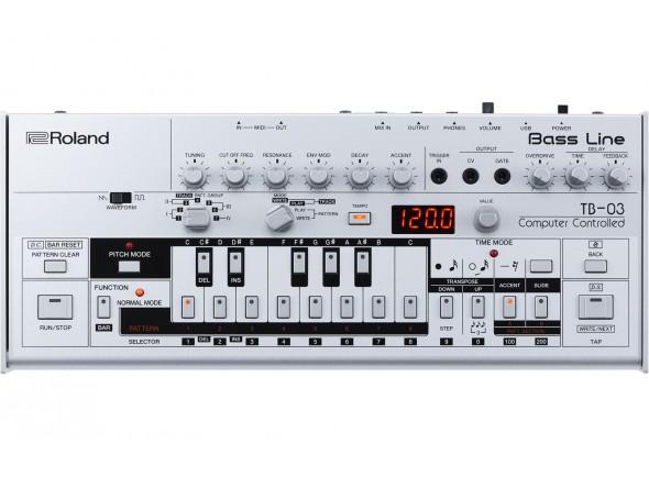 Roland TB-03 Sintetizador Bass Line BOUTIQUE