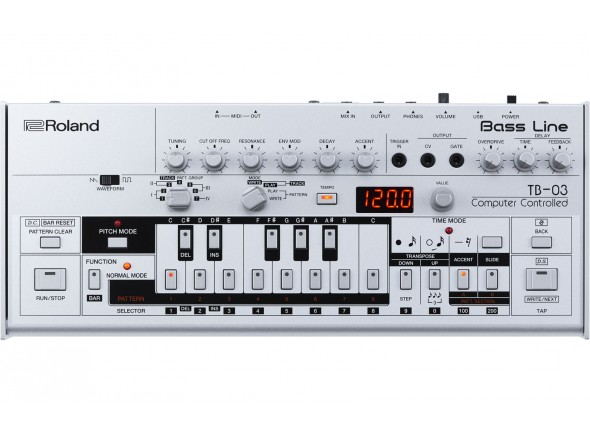 Sintetizadores Roland TB-03 Sintetizador Bass Line BOUTIQUE