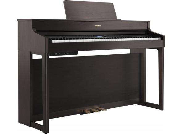 Pianos Digitais de Móvel Roland HP702 DR Dark Rosewood Piano Premium Bluetooth 10 Anos Garantia