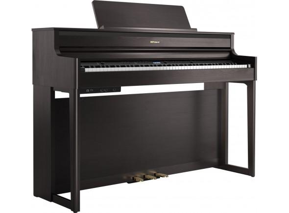 Pianos Digitais de Móvel Roland HP704 DR Dark Rosewood