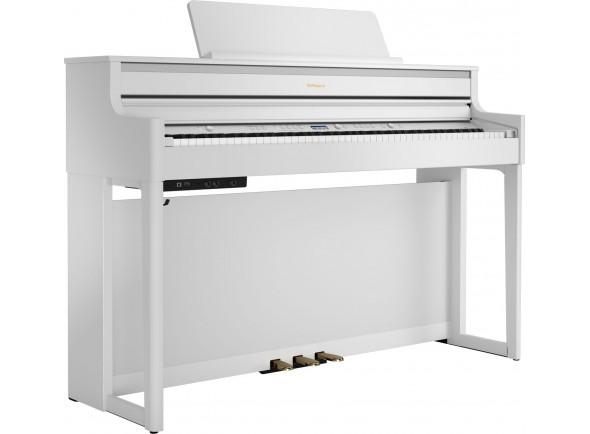 Pianos Digitais de Móvel Roland HP704 WH Satin White
