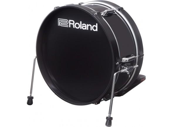 Acessórios para e-drums Roland KD-180L-BK Bombo Electrónico para Baterias Roland