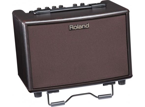 Amplificadores de Guitarra Acústica Roland AC-33 RW Combo Acústica Acoustic Chorus Castanho 30W