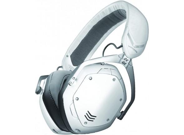 Auscultadores sem fio V-MODA Crossfade 2 Wireless CODEX Edition White Matte