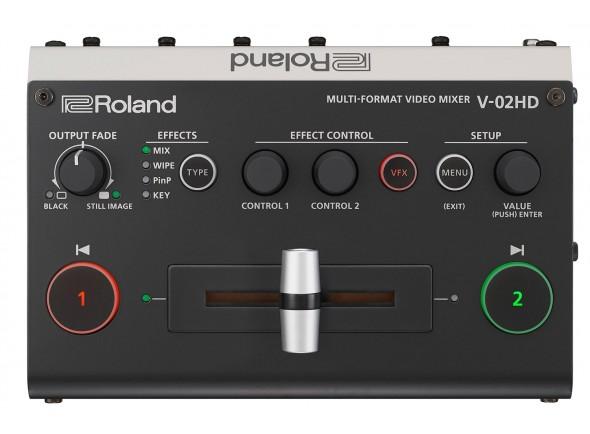 Mesa de Edição de Vídeo Roland V-02HD Mesa de Mistura Video HD