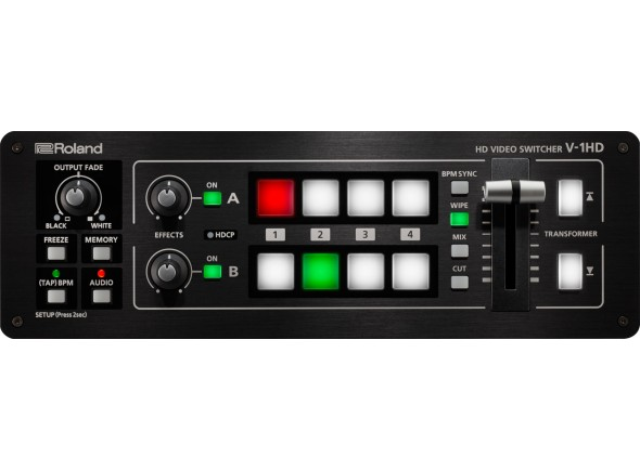Mesa de Edição de Vídeo Roland V-1HD Video Switcher HD