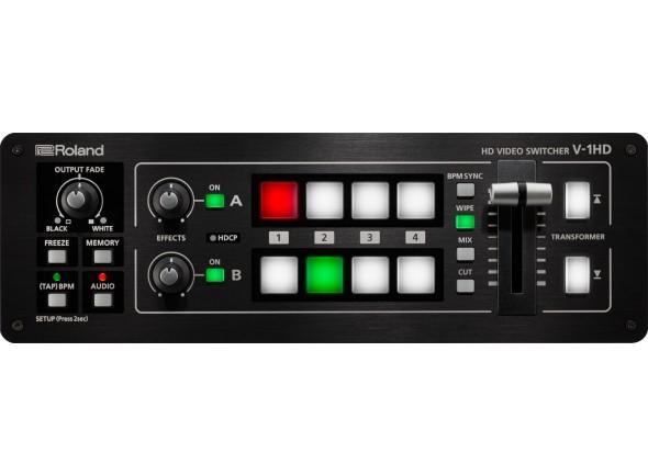 Mesa de Edição de Vídeo Roland V-1HD Mesa de Mistura de Video 1080p Full HD