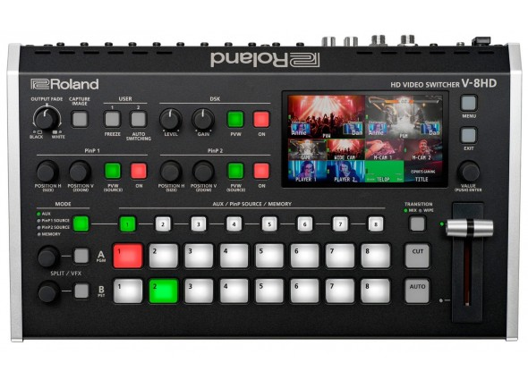 Mesa de Edição de Vídeo Roland V-8HD Video Switcher HD