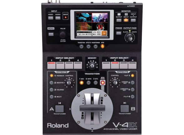 Mesa de Edição de Vídeo Roland V-4EX 4-Channel Video Mixer