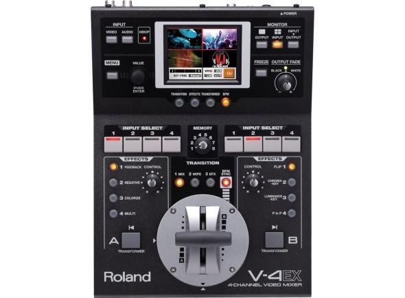 Mesa de Edição de Vídeo Roland V-4EX Mesa de Mistura Video 4-Canais