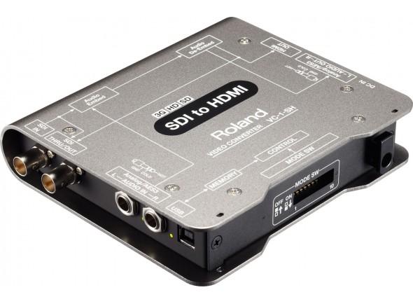 Mesa de Edição de Vídeo Roland VC-1-SH Conversor de Video SDI para HDMI