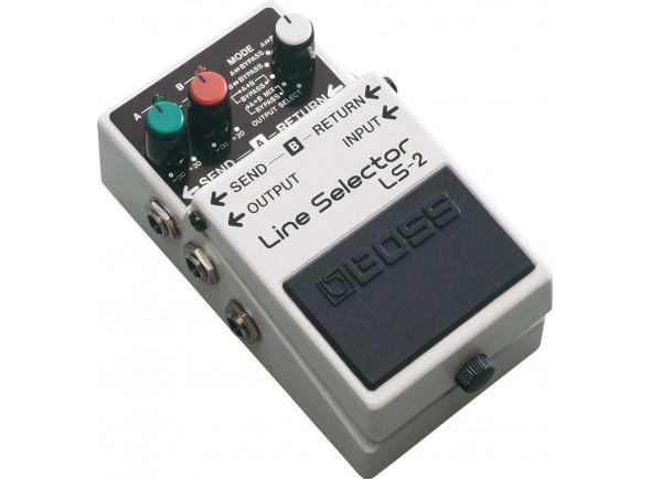Comutadores BOSS LS-2 Line Selector