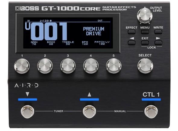 Pedaleiras para guitarra elétrica BOSS GT-1000CORE Pedaleira Multi-Efeitos