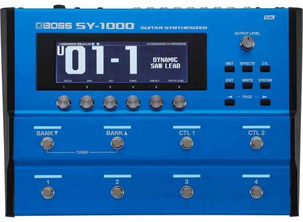 Sintetizadores para guitarras e baixos BOSS SY-1000 Sintetizador de Guitarra e Baixo