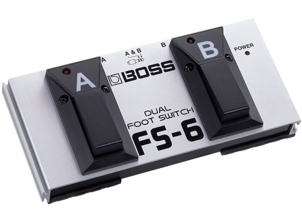 Comutadores BOSS FS-6 Pedal Dual Footswitch