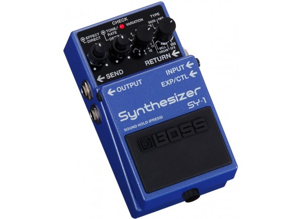 Outros efeitos para guitarra elétrica BOSS SY-1 Sintetizador de Guitarra e Baixo