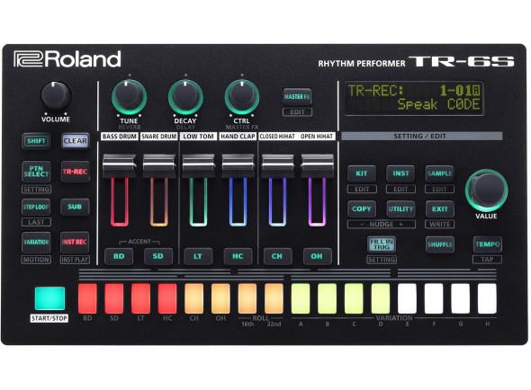 Sequenciadores de ritmos Roland TR-6S Caixa de Ritmos