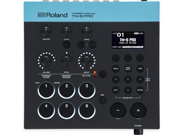 Módulos de bateria eletrónica Roland TM-6 PRO Trigger Modulo de Sons