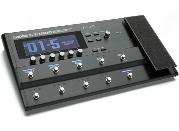 Pedaleiras para guitarra elétrica BOSS GT-1000 Pedaleira Multi-Efeitos Premium Bluetooth