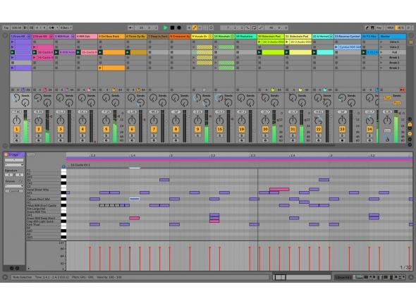 Ableton Live 10 Standard UPG 1-9 Std. Download   Ableton Live 10 Standard UPG 1-9 Std. Download  Upgrade do Live 1-9 Standard  Software para composição, produção intuitiva e mixagem ao viv  Visualização de sessão com clipes, automação de clipe e visualização de trilha clássica  Distorção e alongamento de tempo em tempo real  Modos de distorção complexos  Corte de áudio para rack de bateria ou sampler  Função de áudio para MIDI  Captura permite capturar idéias em trilhas MIDI mais tarde  Grupo de faixas com vários níveis  Suporte para o Serato Scratch Live  Navegador com função de visualização na velocidade do projeto  Resolução de áudio até 32 bit / 192 kHz  Número ilimitado de faixas de áudio e MIDI  12 Enviar e devolver faixas  Até 256 entradas e saídas de áudio  Instrumentos Incluídos: Suporte de Bateria, Impulso, Mais Simples  34 efeitos de áudio  8 efeitos MIDI  Mais de 1800 sons e amostras de 10 GB  Suporta exportação de MP3, FLAC e WAVPACK  Formatos de áudio suportados: WAV, AIFF, MP3, Ogg-Vorbis, FLAC, REX