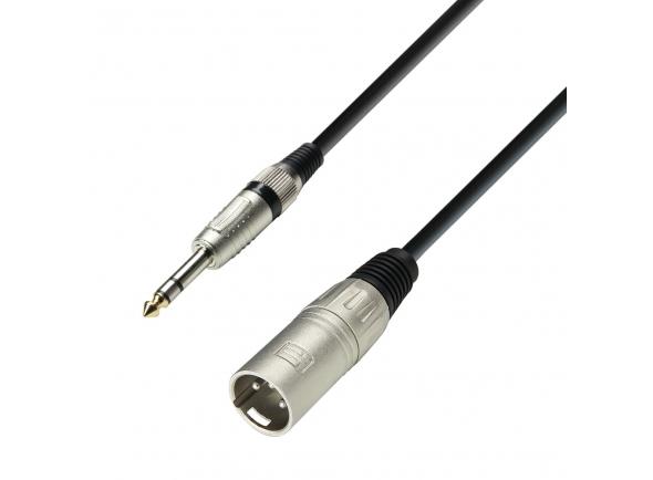 Cabos XLR / Microfone Adam hall K3BMV0600