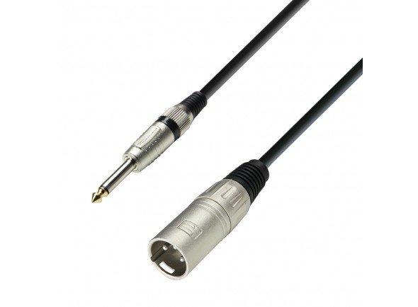Cabos XLR / Microfone Adam hall K3MMP1000 10m