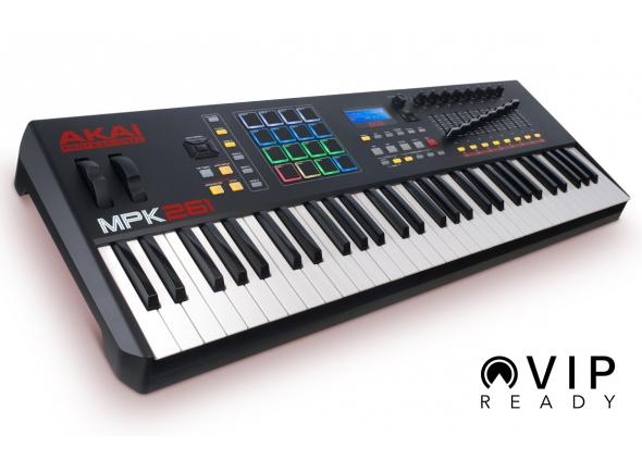 Teclados MIDI Controladores Akai MPK 261