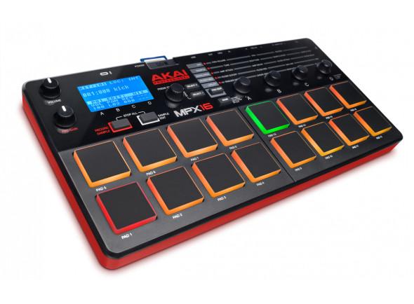 Controladores DJ Akai MPX16 B-Stock