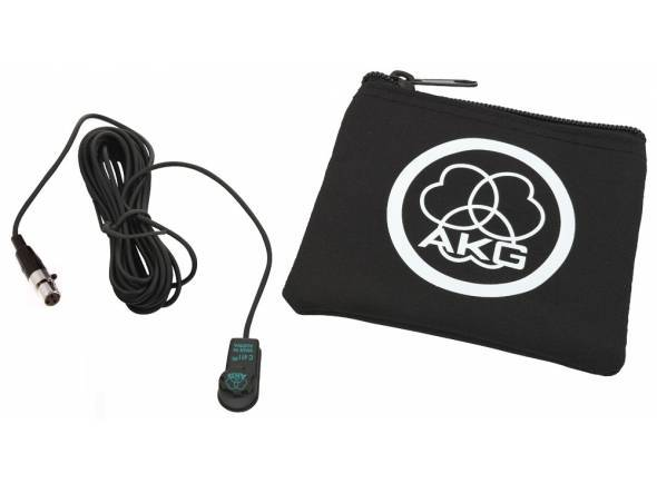 AKG C411 L   O C411L é um captador de vibração em miniatura para violão, bandolim, violino e a maioria dos outros instrumentos de corda. Sua cápsula de condensador integrado reproduz um som mais claro e nítido. Pode ser facilmente acoplado sobre ou perto da ponte com o nonmarking incluso, possui almofada adesiva sem solventes, que não alteram o equilíbrio do instrumento. Este produto fornece um conector XLR de três pinos Mini-profissional que se encaixa os transmissores Body-Pack de todos os sistemas de microfone sem fio AKG.