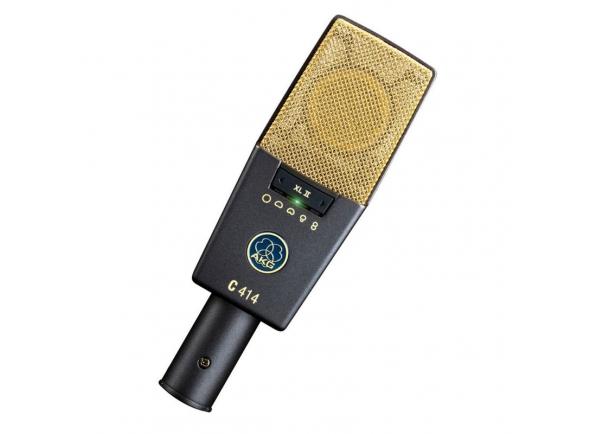 Microfone de membrana grande AKG C414 XLII