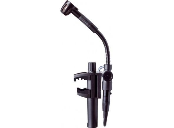 AKG C 518 ML  Microfone condensador de membrana pequenaAKG C 518 ML    Condensador clipe de microfone    Cardióide    60-20,000 Hz