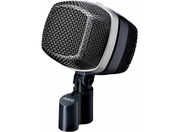 AKG D12 VR  Microfone de BateriaD12 VR - Microfone dinâmico de baixo-bateria - 3 Soundpresets comutáveis e automático -10 dB Pad - Diafragma muito fina