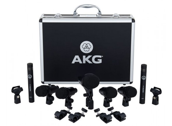 AKG DRUM Set Session 1