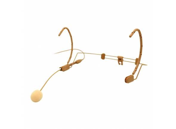 AKG HC 577 L  Microfone de cabeçaAKG HC 577 L - Condensador de fone de ouvido com microfone CK 77 cápsulas - Omni- direcional - Resposta de frequência : 20Hz - 20kHz