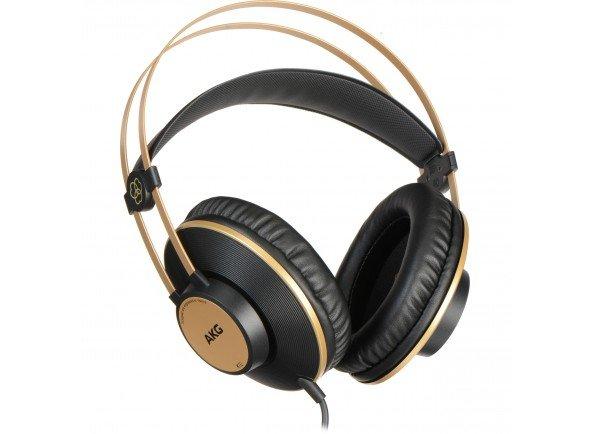 AKG K92  Para monitorização de som ao vivo, salas de ensaio, e estúdios de gravação   Tipo de auscultador: Fechado  Largura de banda frequência áudio: 16 Hz - 20 kHz  Sensibilidade fones: 113 dB