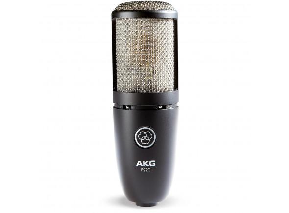 Microfone de membrana grande AKG  P220