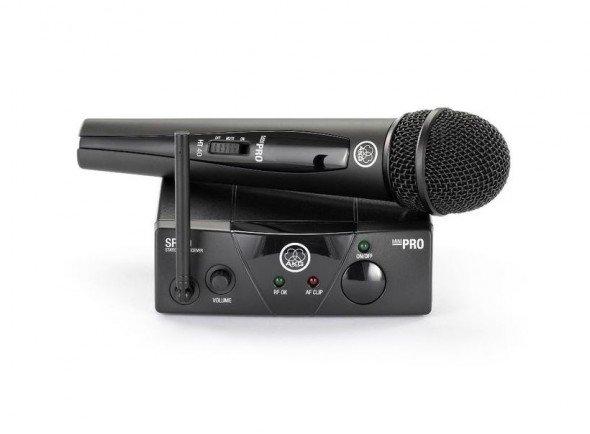 Sistema sem fios com microfone de mão AKG WMS40 Mini Vocal