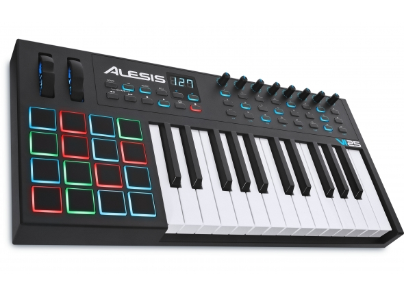Teclados MIDI Controladores Alesis VI25