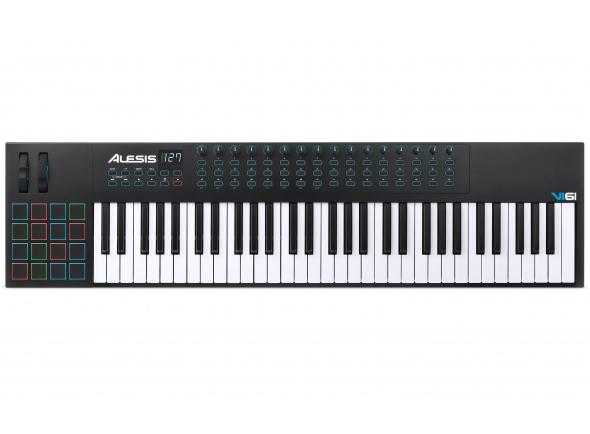 Teclados MIDI Controladores Alesis VI61