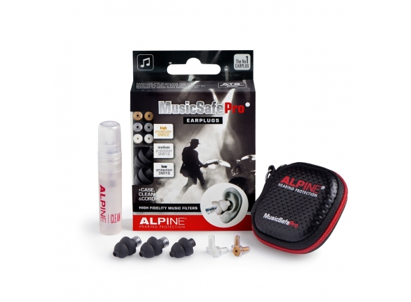 Alpine MusicSafe Pro 2019 Earplugs, Black
