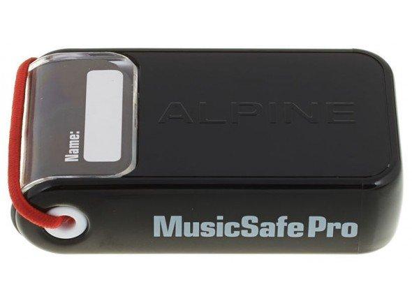 Alpine MusicSafe Pro  Proteção auditiva Alpine MusicSafe Pro - Filtro de Ouro: 16,0 dB (500 Hz) - Filtro de Prata: 15,7 dB (500 Hz) - Filtro de branco: 14,3 dB (500 Hz) - Fácil limpar
