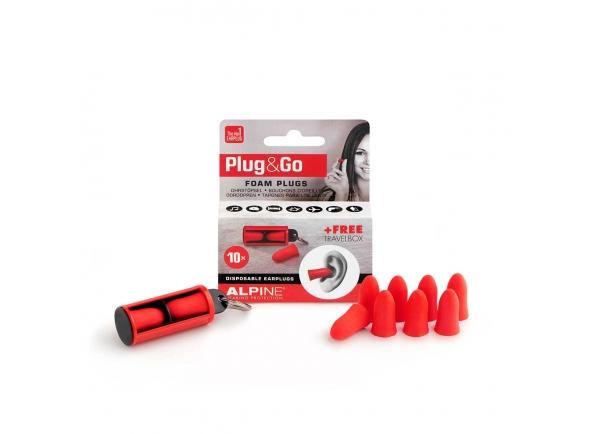 Alpine Protecçao Auditiva Plug&Go 5 Pares PLUGGO