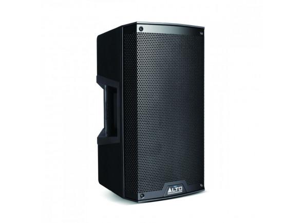 Alto TS 310 B-Stock   Alto TS 310  2000 W de pico (1300 LF + 700 HF) 1000 W de RMS contínuo (650 LF + 350 HF)  Driver LF de 10 polegadas (254 mm), bobina de voz de alta temperatura de 2,5 polegadas (65 mm)  Driver HF: Driver HF de ímã de neodímio de 1,4 polegadas (35 mm) com guia de ondas de precisão  Design de gabinete leve, de alta qualidade para fácil transporte, instalação e instalação  Monitor de cunha montável em poste, instalação de suporte ou aplicação voada com pontos de suspensão M0 integrais  Mixer integrado de 2 canais com entradas de mic / linha combinadas XLR de 1/4 pol., Controles de nível independentes, saída XLR Link, interruptor Contour EQ e interruptor de aterramento  Amplificadores classe D de alta eficiência com projeto de resfriamento passivo - sem ventilador significa que o alto-falante funciona de maneira mais limpa, silenciosa e com maior confiabilidade a longo prazo  Projetado e ajustado nos EUA.