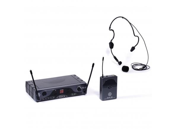 Sistema sem fio com microfone de cabeça ANT START 16 BHS