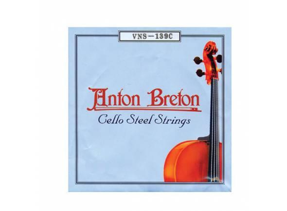 Anton Breton Cordas de Violoncelo VNS-139C (Steel)