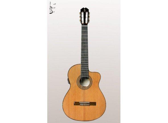 Guitarras clássicas eletrificadas APC 5C CW