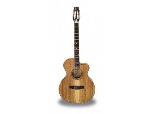 APC EA300 KOA KOA CROS CW  Guitarra Eletroacústica APC EA300 KOA KOA CROS CW - Poro aberto - Tampo: Koa Maciça - Aros e Fundo: Koa Maciça - Braço: Mogno - Escala: African Blackwood