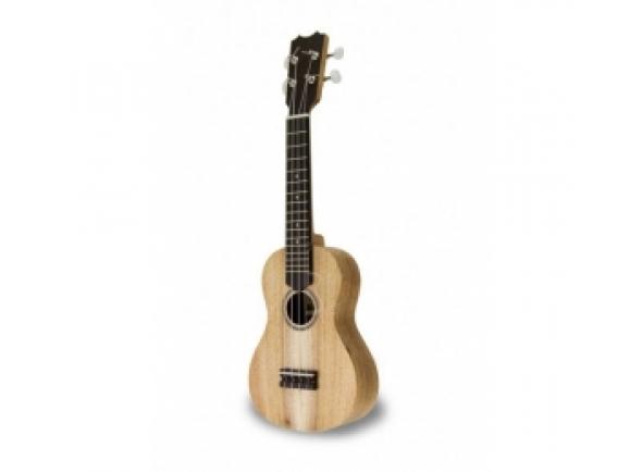 APC Ukulele Soprano - SS B-Stock  Modelo mais pequeno de ukulele e é o ideal para os principantes   Tampo Koa Maciça  Aros e Fundo Koa Maciça  Braço Mogno